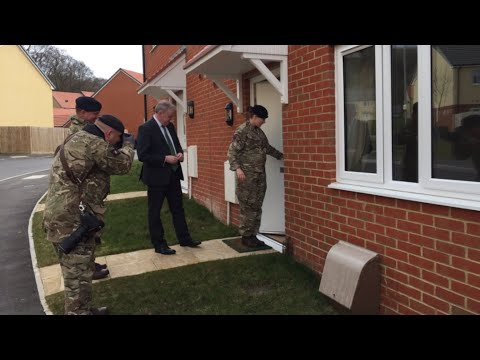 A Tour of British Army's New Married Quarters (Housing)
