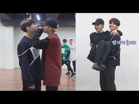 JIMIN And JUNGKOOK (지민 & 정국 BTS) Cute Moments