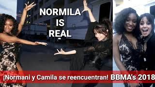 Normani y Camila Cabello se reencuentran | BBMA's 2018 Normila