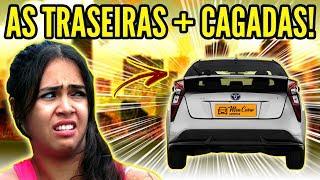 TOP 10 CARROS com TRASEIRAS + RIDÍCULAS!