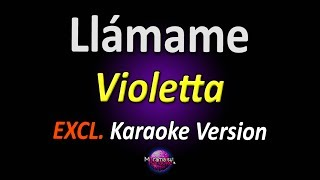 Baixar ★ Violetta 3 - Llámame (Karaoke Version)