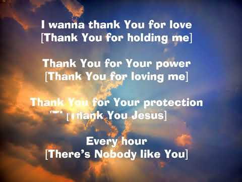 Thank You Lord for All You've Done for Me