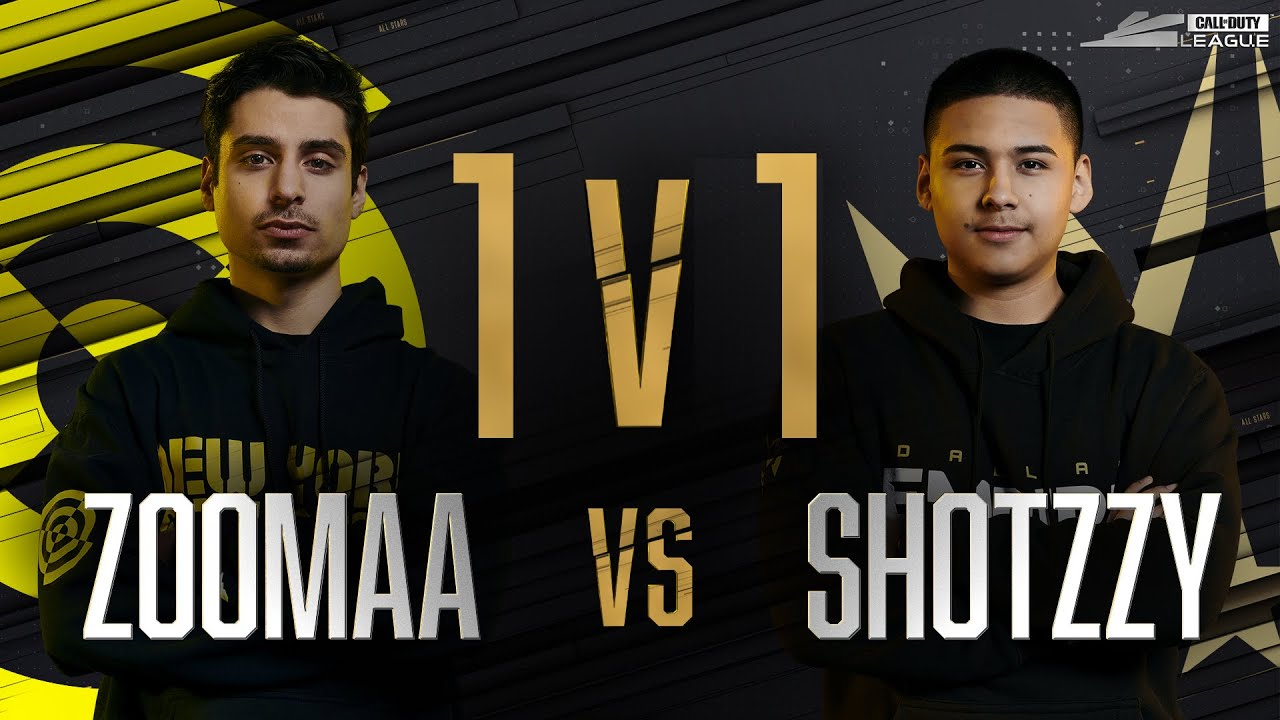 Round 2 | ZOOMAA vs SHOTZZY — 1v1 Gunfight | All-Star Weekend Day 2