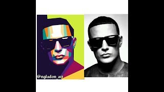 How to make (WPAP) Wedhas Pop Art Portrait with Picsay pro | dj snake