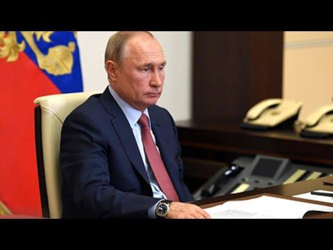 Совещание Владимира Путина по санитарно-эпидемиологической обстановке в РФ от 22.05.20. Полное видео