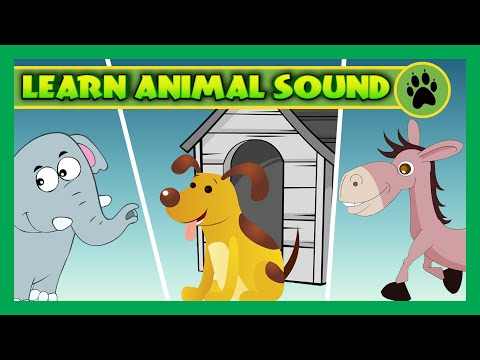Animal Sounds For Children To Learn | Rhymes Collection and More for Kids