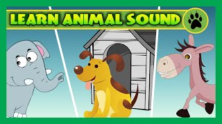 CHILDREN RHYMES - Animal Sounds For Children To Learn | Rhymes Collection and More for Kids