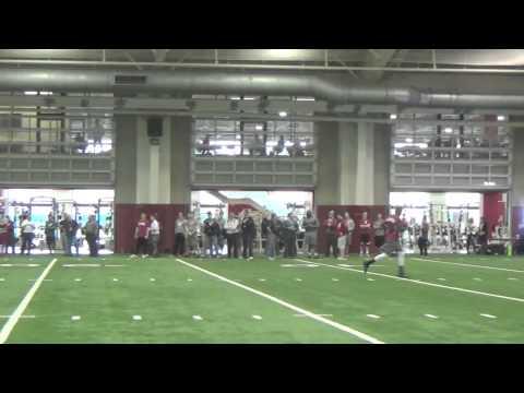 A.J. McCarron Alabama Pro Day - Raw Footage (FULL)
