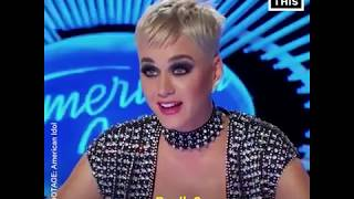 Katy Perry Forcibly Kisses 'American Idol' Contestant Video