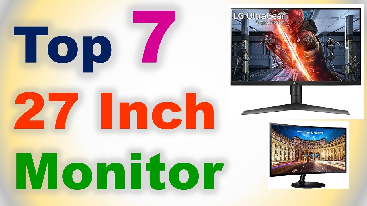 Top 7 Best 27 Inch Monitor in India 2020 | What is the best 27 inch Monitor to Buy?