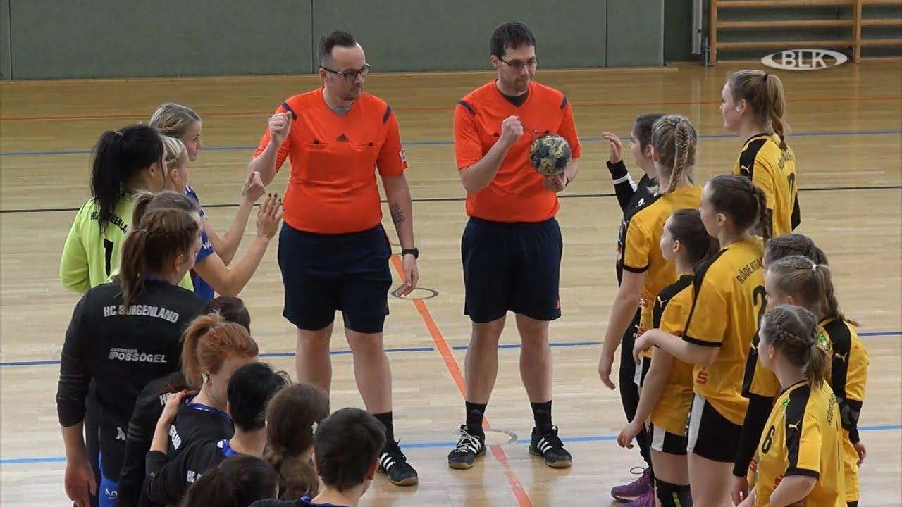 Handball Oberliga Frauen HC Burgenland HC Rödertal II ...