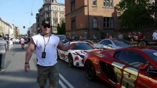 Hardkorowy Koksu sprawdza fury na Gumball 3000 w Kopenhadze 2017 Video