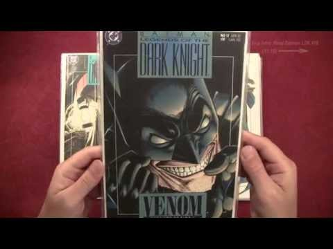 Reading Comics: Batman, Legends of the Dark Knight #16, First Appearance Venom, Bane. DC, 1991 ASMR