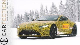 New Aston Martin Vantage: Extreme Winter Drive - Carfection