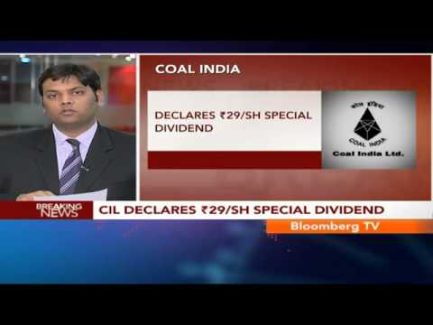 Newsroom- CIL Declares Rs.29/Sh Special Dividend