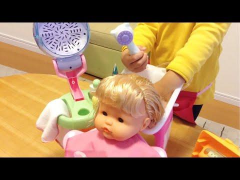 Nenuco Magic Hairdresser / ネヌコ 人形 びようしつ おもちゃセット