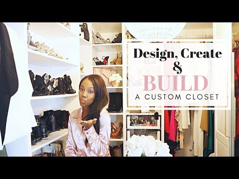 How to Design, Create and Build a Custom Master's Closet | DIY Dream Closet