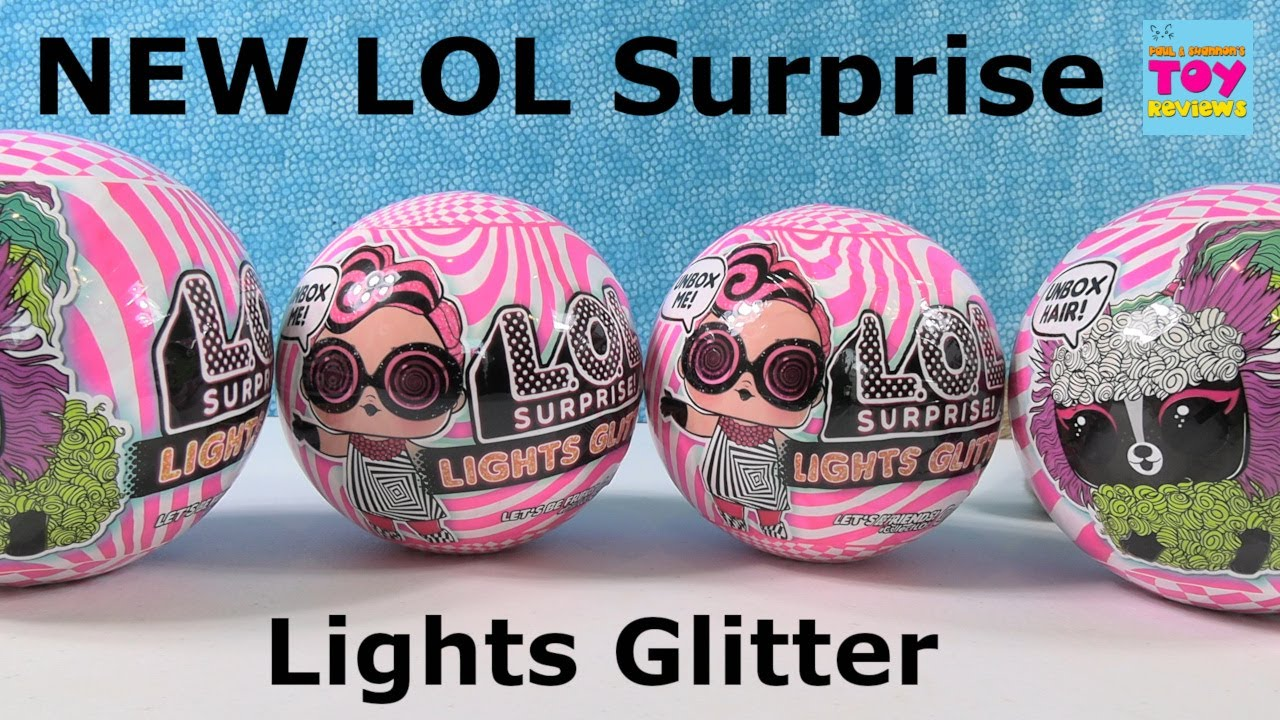 Lol Surprise New Lights Glitter Doll Pets Glow In The Dark Unboxing Pstoyreviews Youtube