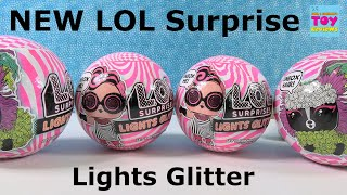 LOL Surprise NEW Lights Glitter Doll Pets Glow In The Dark Unboxing | PSToyReviews