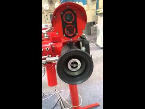 Пожарный робот производства ПОЖТЕХСПАС