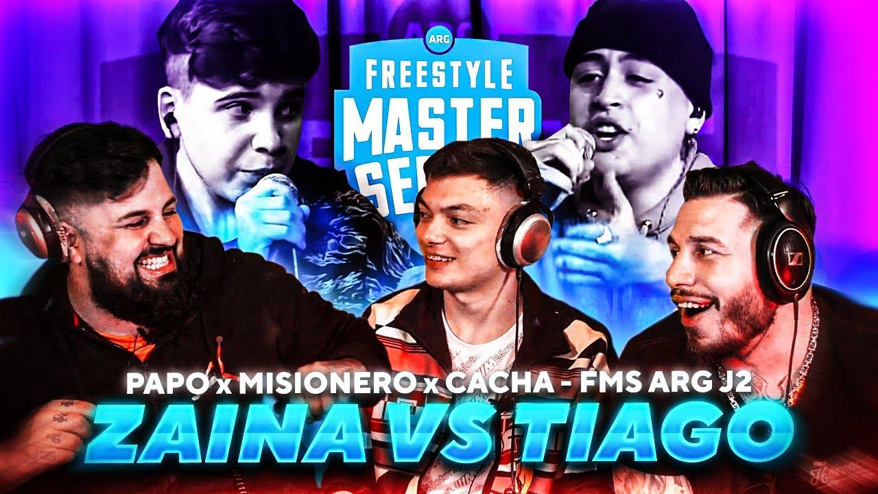 Download TIAGO LA ROMPIÓ | ANALIZANDO ZAINA vs. TIAGO CON CACHA Y MISIO - FMS Argentina 2020 J2