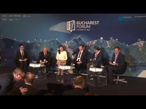 """Reshaping Global Trade – China's Belt and Road Initiative"" at Bucharest Forum 2017"
