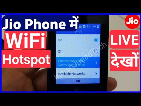 JioPhone WiFi Hotspot Feature? LIVE Demo Jio Phone