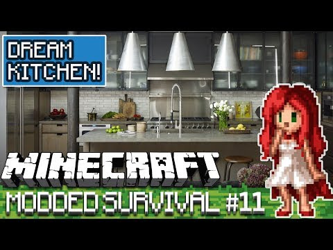 Building a Kitchen!!  [Over The Rainbow Modded Minecraft Ep 11]