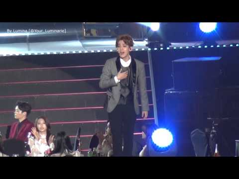 "150122 Exo in Seoul Music Awards _ ""Lucky"" Baekhyun ver"