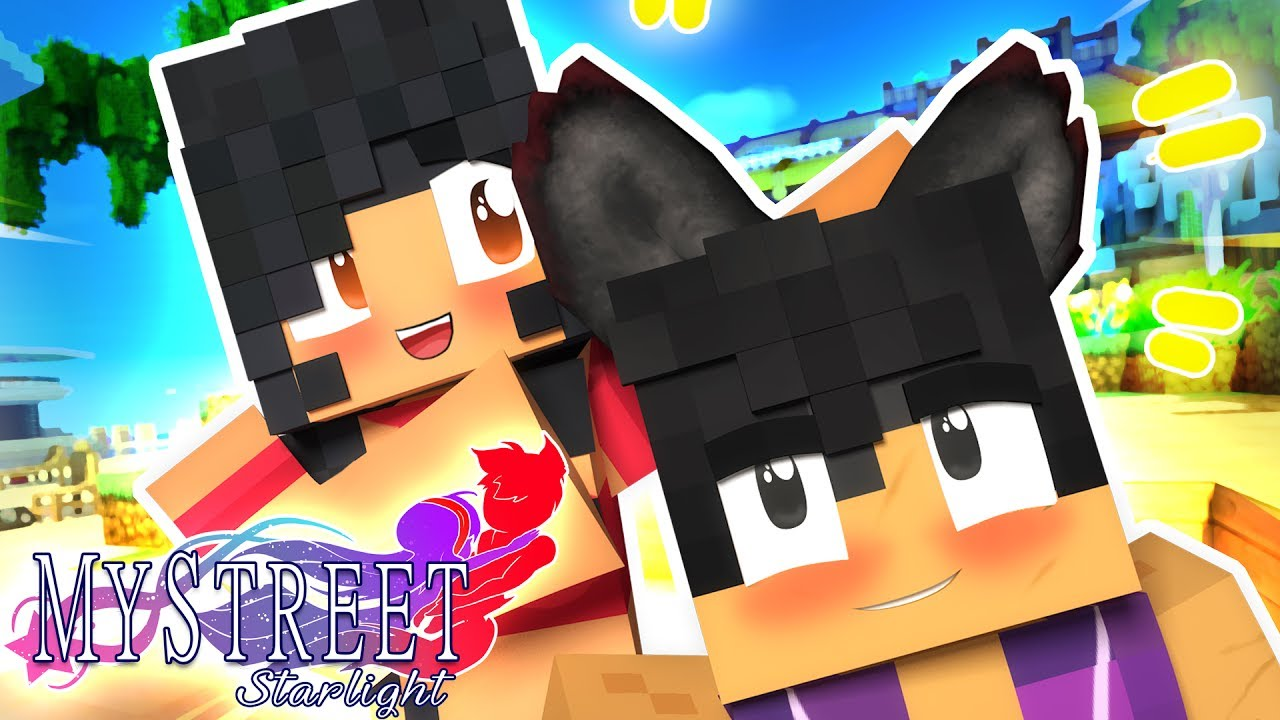 Werewolf Kiss?! | MyStreet: Starlight [Ep.3] | Minecraft Roleplay