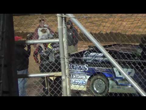 Ark La Tex Speedway USMTS Winner Cade Dilliard interview.