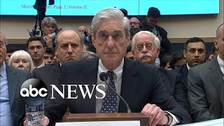 Mueller contradicts Trump, says report did not exonerate him 5 key takeaways from Robert Mueller's testimony before Congress: abcn.ws/2Y5Xmj0 Former special counsel Robert Mueller addressed the president's ..., From YouTubeVideos