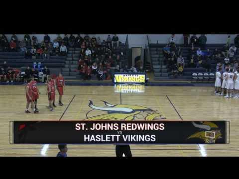 Haslett Boys Varsity Basketball - Friday, January 6th