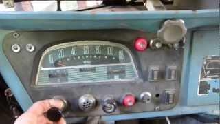HY CITROËN diesel 3 vitesses Le tube. Mise en route