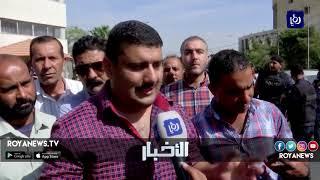 الأردن .. حراك عمالي أمام وزارة البلديات للمطالبة بحقوق وظيفية