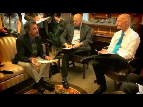 Gov. Rick Scott meets with climate scientists