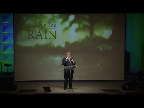 Ask For The Rain – Pastor Raymond Woodward