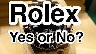 Steel Rolex $10,000 - Yes or No?