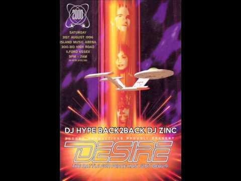 Dj Hype & Zinc B2B @ Desire 31st August 1996