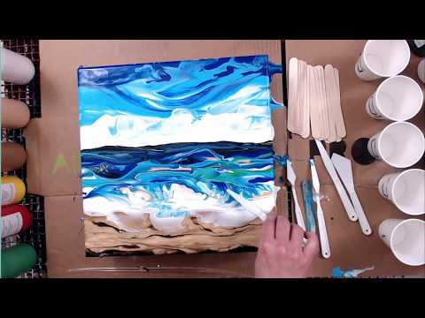 Quality control test for Deluxe Premixed Paint-acrylic pour painting