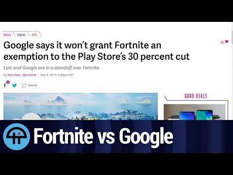 Fortnite vs Google Play
