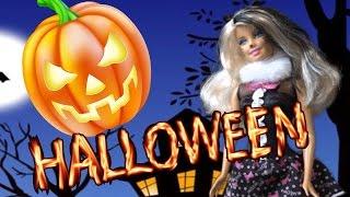БАРБИ ХЭЛОУИН Серия 1 Барби Женщина Кошка, Томми в костюме привидения, Челси ведьма Barbie Halloween