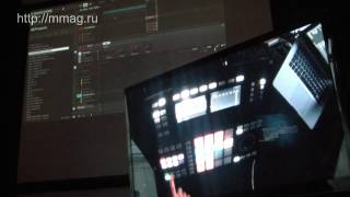 mmag.ru: Maschine Studio review & demo part 2 - Native Instruments presentation