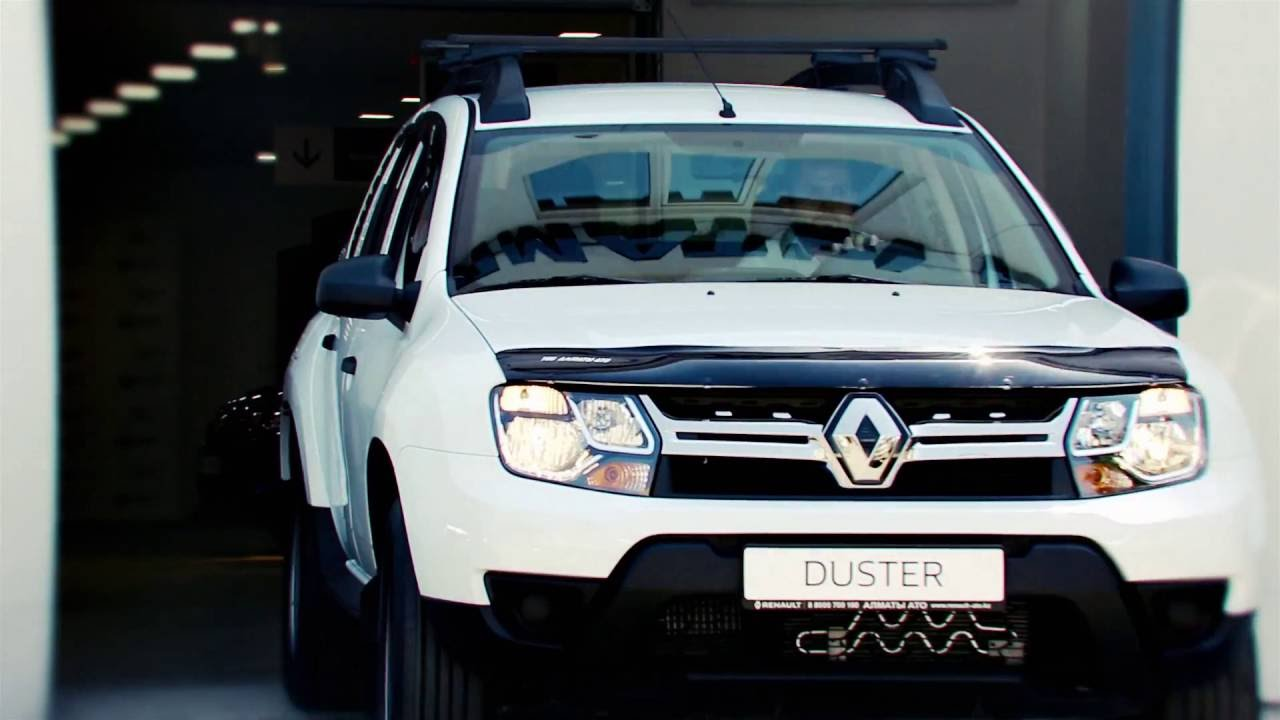 Renault Duster в Казахстане от astek.kz - YouTube