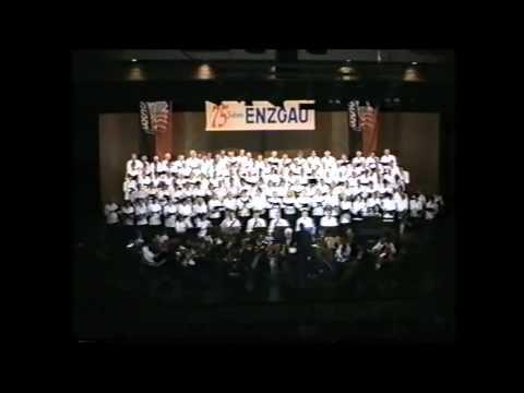 Gem.Chor Enzgau (W.Dippon) - Komm holder Lenz (Haydn)- Jubiläumskonzert 75 J  Enzgau 1997 Mühlacker