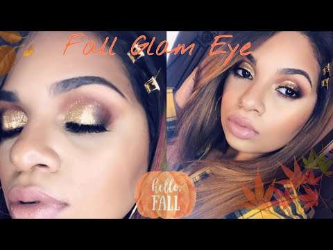 Fall Glam Eye Tutorial | Rebellamua thumbnail