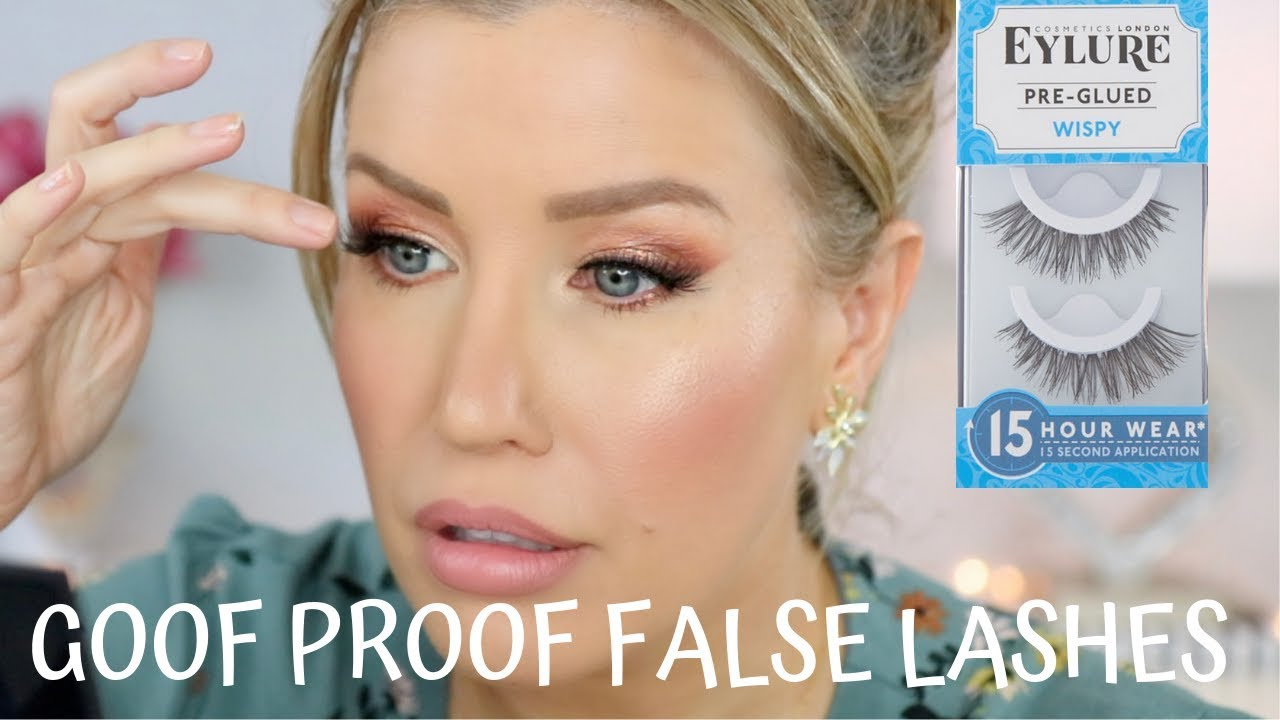 0bdb588bade TESTING PRE GLUED FALSE LASHES: FAB FIND OR MAJOR MISS? - YouTube