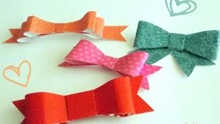 Repeat youtube video Moños de papel