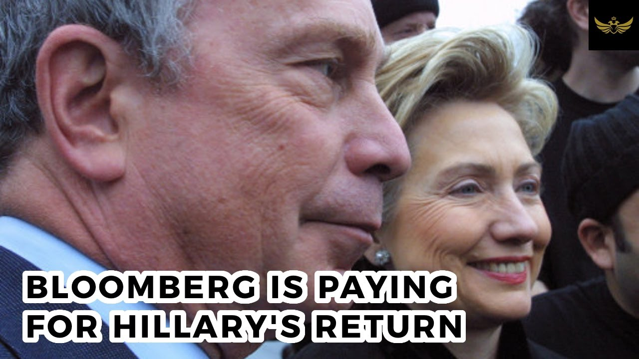 Mike Bloomberg is paying & paving the way for Hillary Clinton