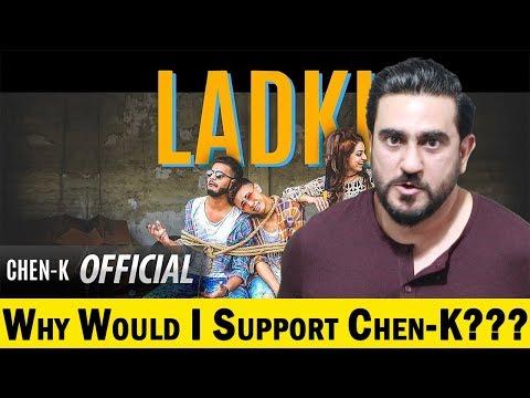 Reaction on CHEN-K - LADKI | Shehroz Ghouri | Urdu Rap